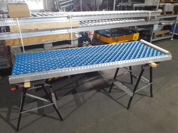 Transnorm gravity roller conveyor 2140-700-600-40