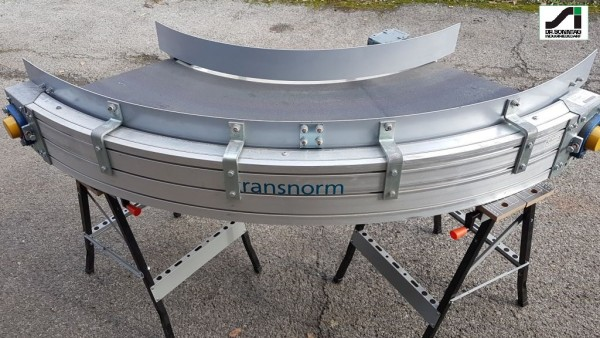 Transnorm curved belt conveyor 90° left bend 500 IR750 TS 1600-105 FH2