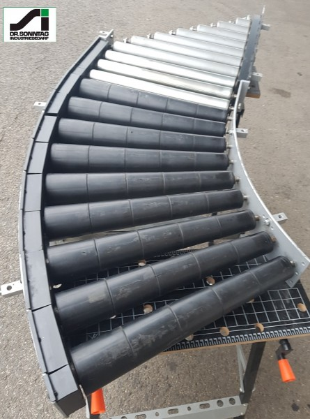 Transnorm curved roller conveyor 45° driven + insertion unit 500