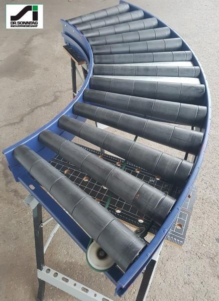 Schulz curved roller conveyor 90° driven roller curve 580-530 IR795