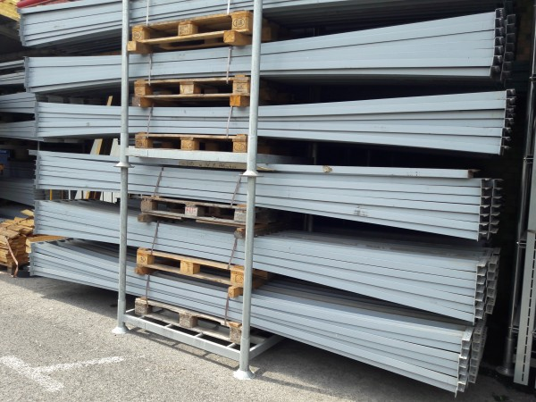 Opitz Pallet rack H x D x W = 4,800 x 850 x 3,500 mm Optipal - 12,5