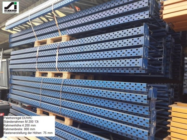 Duwic Palettenregal 4200x800x3500 HxTxB