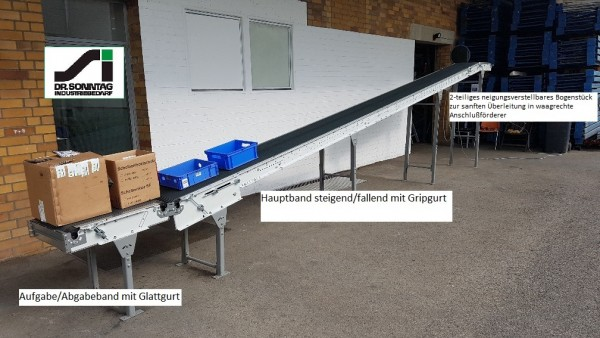 Dematic Belt conveyor belt conveyor belt 9827-500-400
