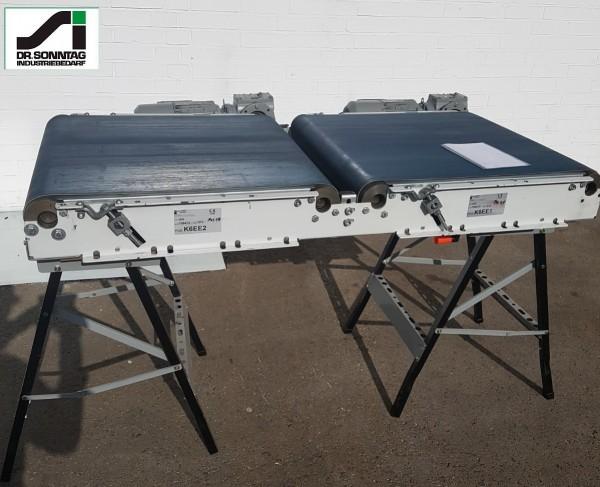 Dematic Belt conveyor separator combination 2x GG 750-760/650