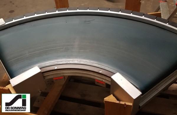 Transnorm curved belt conveyor 90° right bend 710-500 IR500