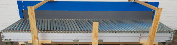 Transnorm inclined roller conveyor 3130-840-1180