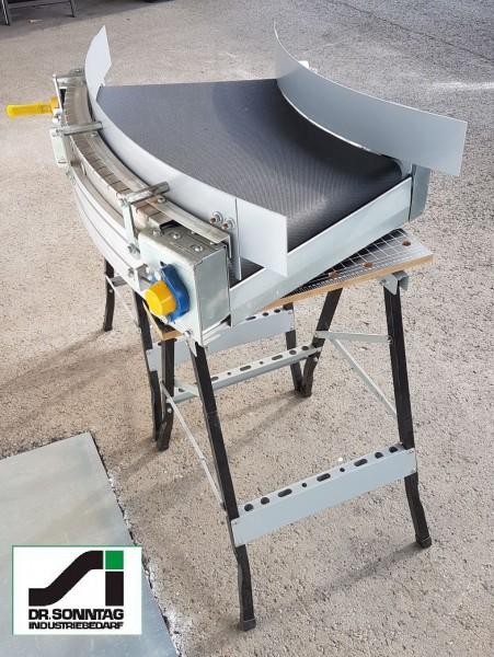 Transnorm curved belt conveyor 45° right bend 500 IR850