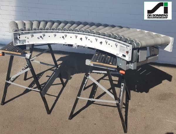 Dematic Rollenkurvenförderer 500-430 IR765 Rollenkurve 90°