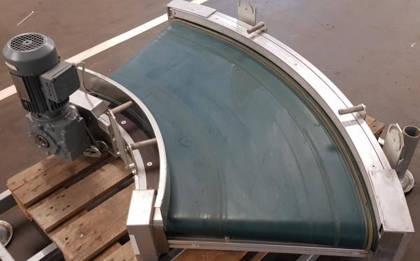 Transnorm belt curve conveyor left GKF 70° degrees-770-600 IR600
