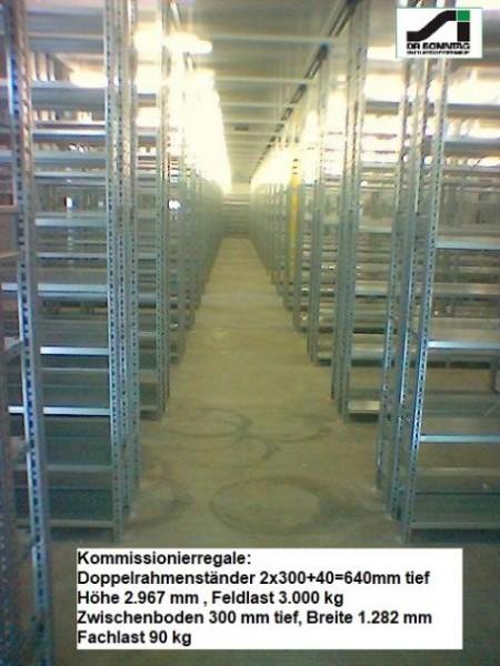 SSI Schäfer shelving rack unit R 3000