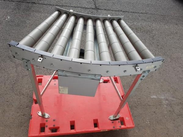 Transnorm curved roller conveyor 45° left driven roller curve 565-500 IR750