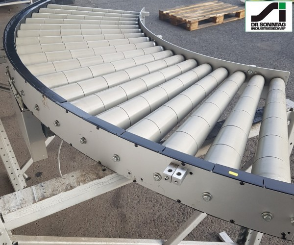 Transnorm curved roller conveyor 90° driven roller curve 680-600 IR816