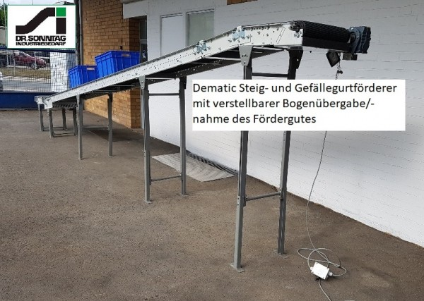 Dematic Belt conveyor belt conveyor belt 7872-500-400