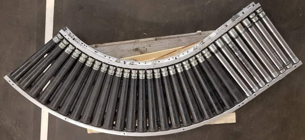 Dematic roller curve right or left 90° with straight section 2315-600-540 IR795