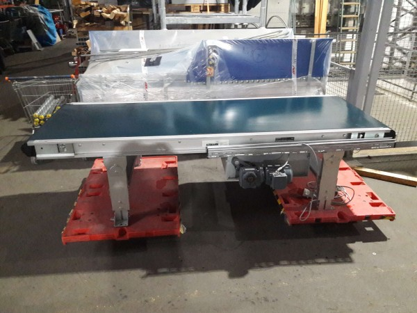Axmann belt conveyor type 4081 GF 2500-900-800