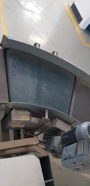 Transnorm Gurtkurvenförderer 30° rechts GKF 758-750-500 IR900
