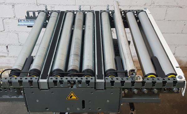 Knapp transfer roller conveyor Toothed belt slider outlet 90° 675-690-625
