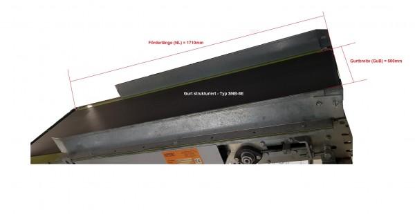 Lippert belt conveyor belt conveyor GF 1710-650-500