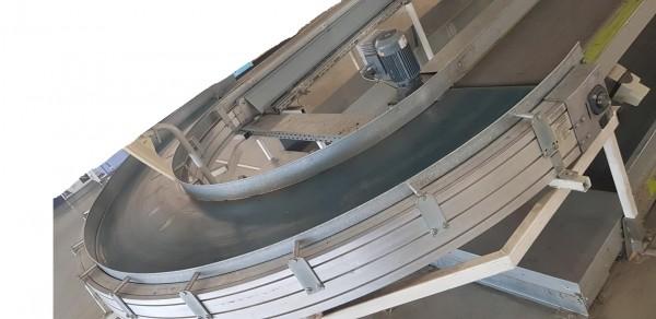 Transnorm Gurtkurvenförderer 180° links GKF 4820-750-550 IR1000