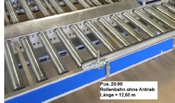 Gebhardt Not driven roller conveyor 12600-510-450