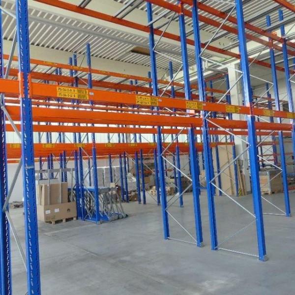 SLP pallet rack system 11300 x 6000 x 1100mm