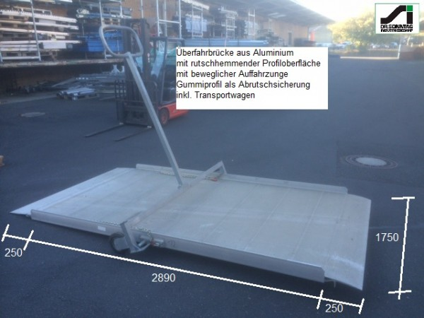 u Loading ramp 3390-1750 + Transportwagen
