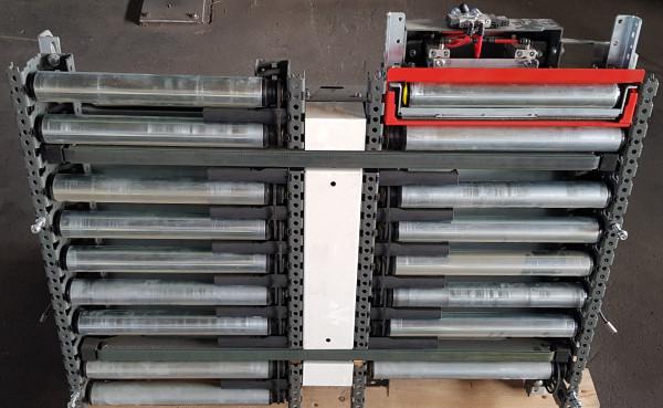 Knapp transfer roller conveyor Toothed belt slider 90° 750-490-425