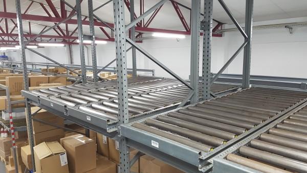 Einschub-Palettenregal für Europaletten 15000 x 2400 x 5400