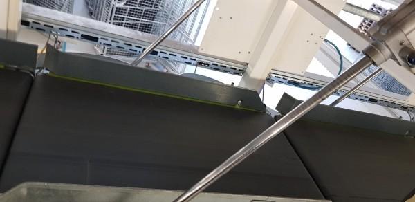 Lippert Gurtförderer Gurtband Förderband Klappenband GF 970-650-500