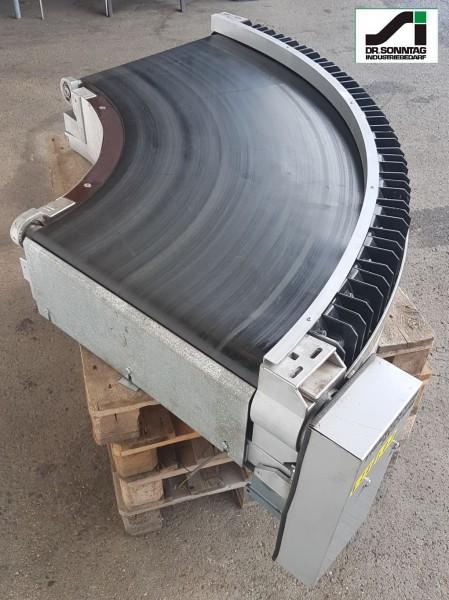 Transnorm Gurtkurvenförderer 600 IR600 Gurtkurve 90° rechts