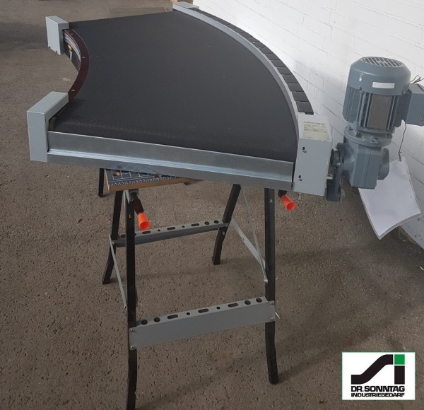 Transnorm curved belt conveyor 45° right bend 700 IR2480