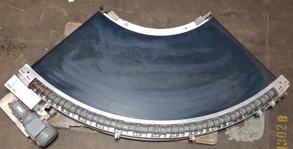 Transnorm curved belt conveyor right 90°-780-600