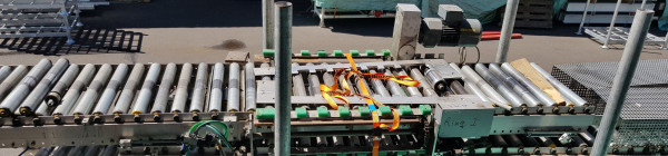 Transnorm Roller conveyors with chains pull 90° 3300-600-550