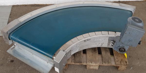 Transnorm Spiral Helix Gurtkurvenförderer 90° rechts GKF 1805-750-550 IR600