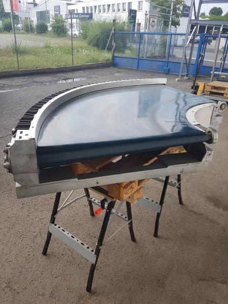 Transnorm curved belt conveyor 90° right bend 890-800 IR600