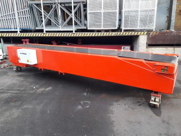 Telescopic belt conveyor telescopic conveyor total length 11200mm