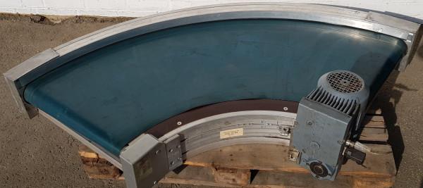 Transnorm Gurtkurvenförderer rechts GKF 90°-750-550 IR600