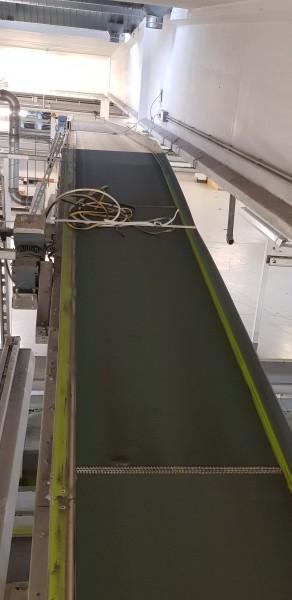 Lippert Belt Conveyor Riser Belt Conveyor GF 8000-750-600