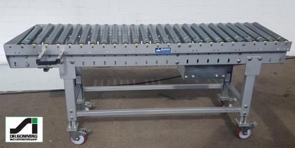 Budde 2.000-560-540 Roller conveyor, roller conveyors schwenkbares Durchgangsstück