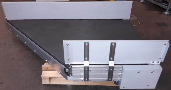 Transnorm angled-belt conveyor 45° 1500-1250-1200