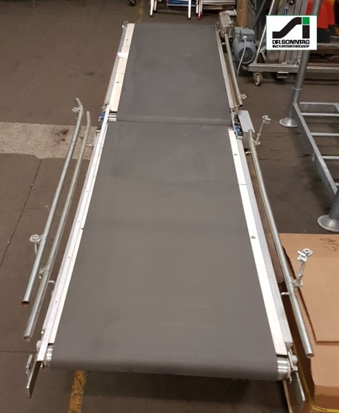 Transnorm Belt conveyor with Ribbon, jointed TR 1500+1600-700/600