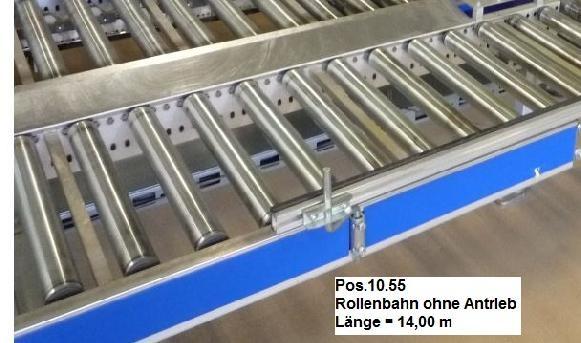 Gebhardt Not driven roller conveyor 14000-510-450