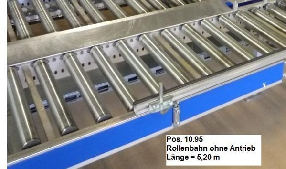 Gebhardt Not driven roller conveyor 5200-510-410